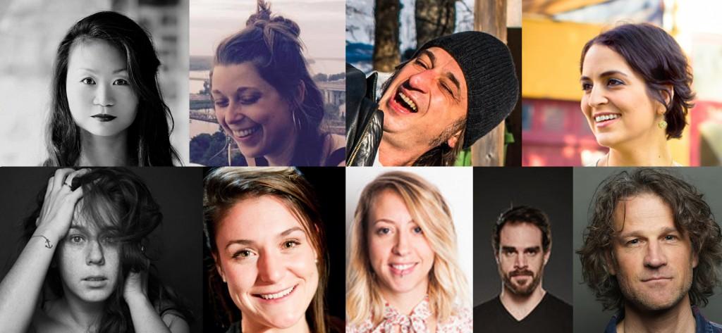 9 artistes, 7 projets et 4 disciplines