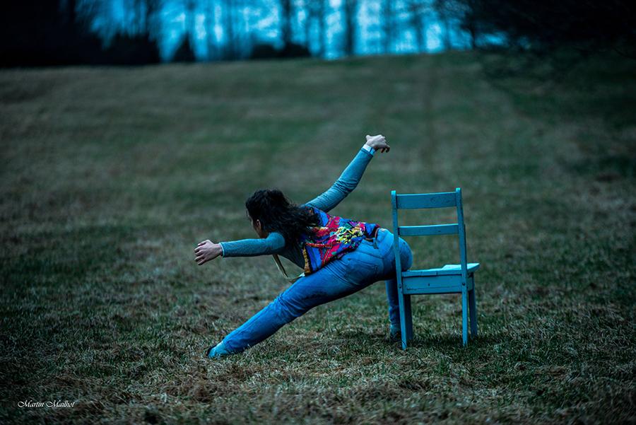 Danse et installation - Ariana Pirela Sanchez