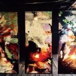 Peinture sur verre et danse- Amélie Lemay-Choquette