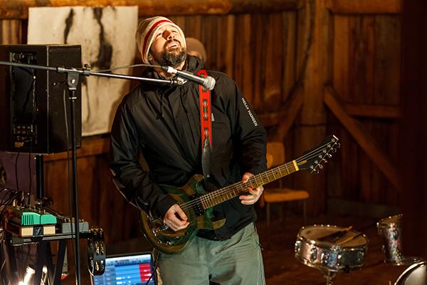 RURART Hiver 2018, Allan Hard, musique, photo Stuart EdwardsLR