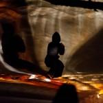 RURART Hiver 2018, Amélie Lemay-Choquette, projection peinture, verre, danse, photo Stuart EdwardsLR