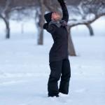 RURART Hiver 2018, Amélie LemayChoquette, danse, hiver, photo Maryline Blais