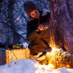 RURART Hiver 2018, Claude Andrée Rocheleau, chant hiver, photo Maryline Blais