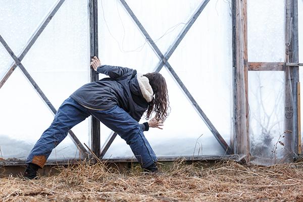 RURART Hiver 2018, Claude-Andrée Rocheleau, danse ferme, photo Maryline BlaisLR