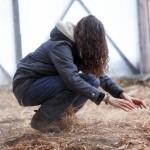 RURART Hiver 2018, Claude-Andrée Rocheleau, danse, poussières, photo Maryline Blais