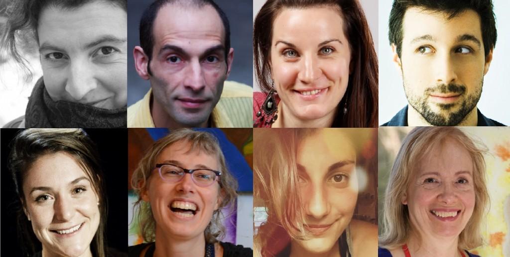 RURART Hiver 2018, Nadia Cicurel, Salim Hammad, Marie Noëlle Doucet-Paquin, Allan Hard, Amélie Lemay-Choquette, Annie Lévesque, Claude-Andrée Rocheleau, Hélène Routhier
