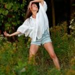 Amélie Lemay-Choquette, rituel dansé au coucher de soleil