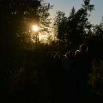 Public - Parcours artistique - en forêt