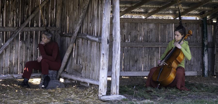 Francine Châteauvert - danse contemporaine Magali Brondel - violoncelle