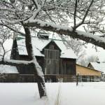 Grange hiver