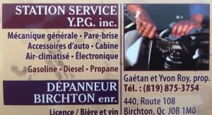 Station Service YPG inc