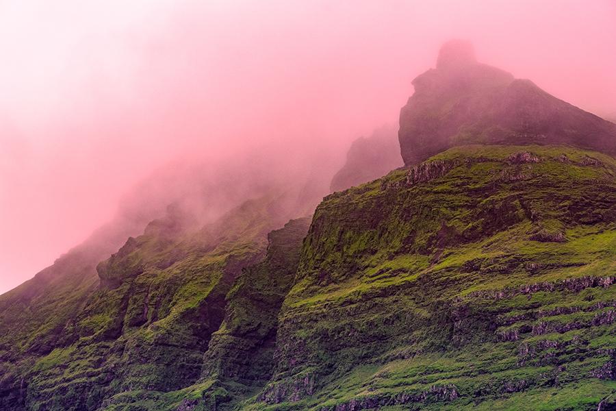 Oeuvre Margane Célement-Gagnon, projet résidence en Islande