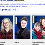 Prix dev. Conseil de la Culture 2019